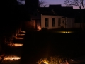 Eclairage de jardin sur détecteur