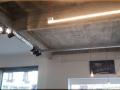 Pose de luminaire avec chemin de câble