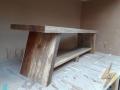 PHOTO D banc en bois de recuperation de grange 2