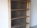 Bibliothèque bois de recarburation de grange