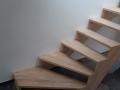 Escalier sur mesure double quart tournant