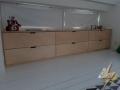 meubles sur mesure a grand tiroir en bouleau 2