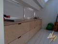 meubles sur mesure a grand tiroir en bouleau 3
