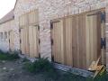 porte de garage bois exotique 2