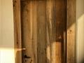Porte bois de récuperation de grange