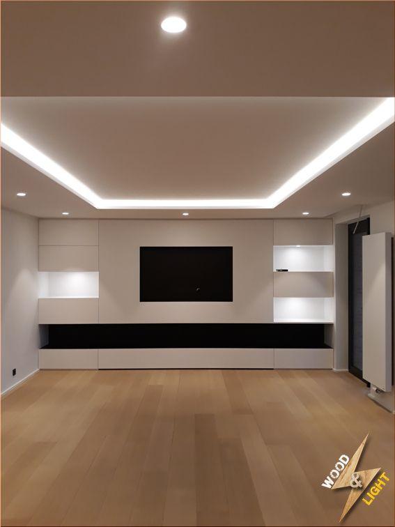 Eclairage Living (Bandeau LED + Spot encastré LED)