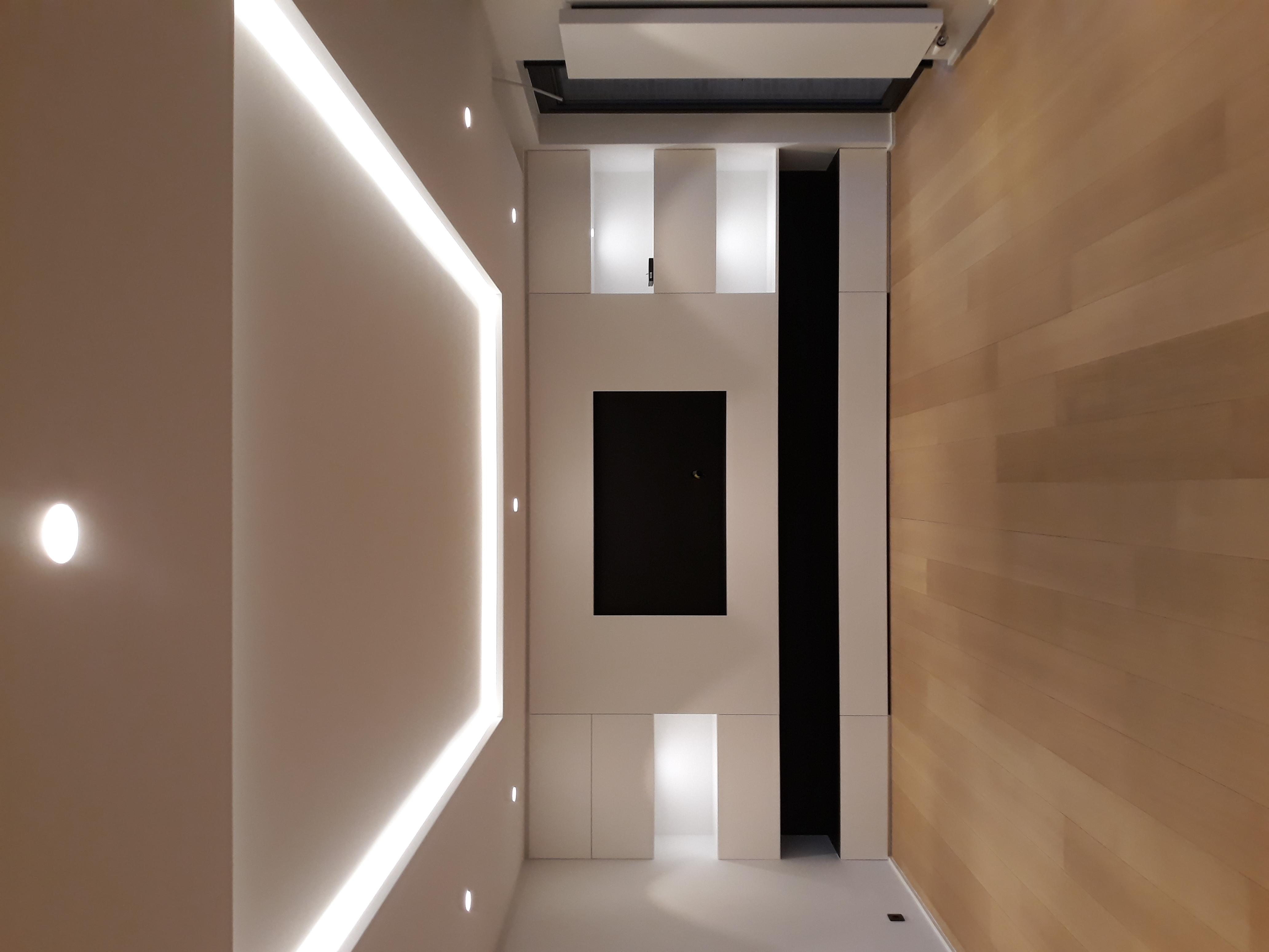 Eclairage-Living-Bandeau-LED-Spot-encastré-LED